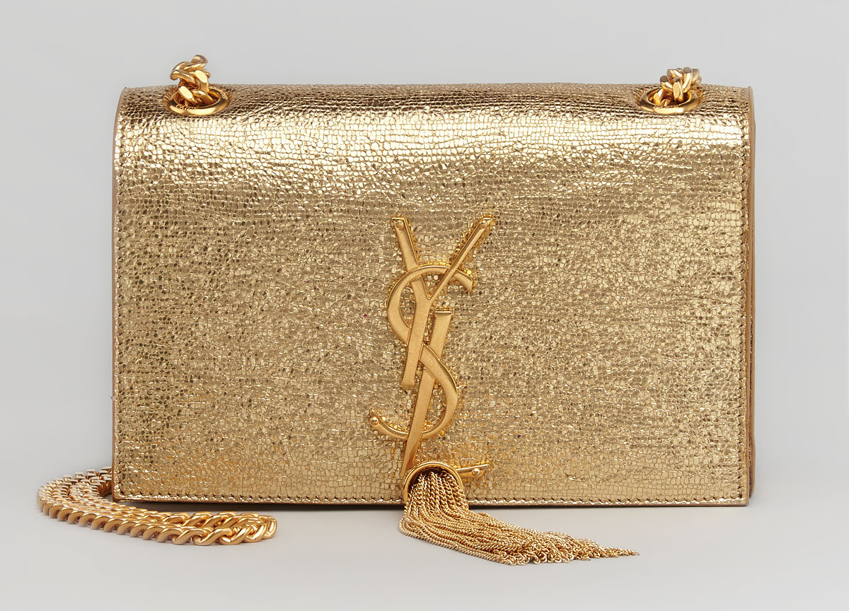 484307422432 Saint-Laurent-YSL metallic bag - Vanguard Allure