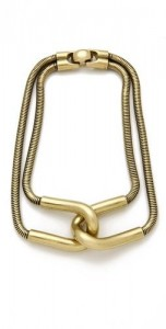 Cortina Snake cahin necklace