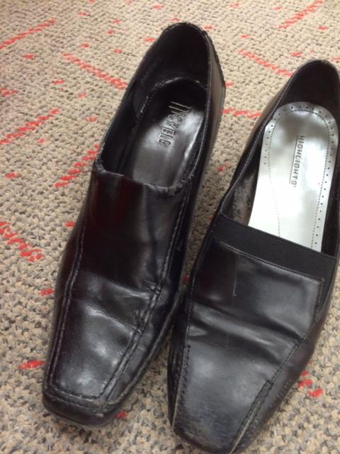 Deformed shoes