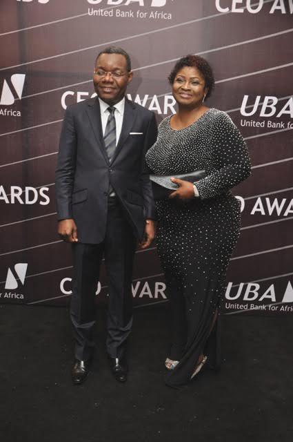 Victor Osadolor and wife Aderonke