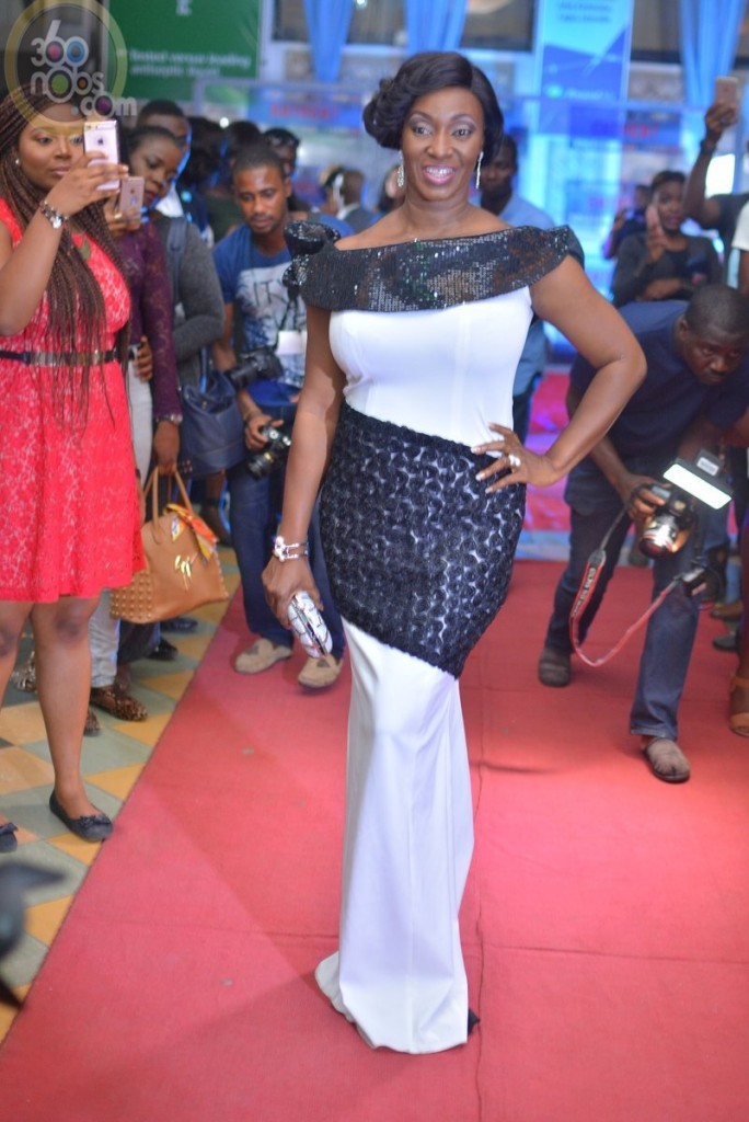 Entreat movie premiere.. Funmi Aofiyebi