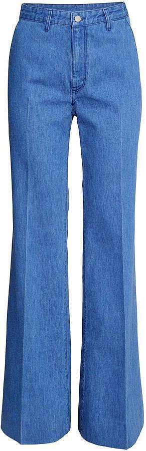 H&M Wide-leg Jeans a