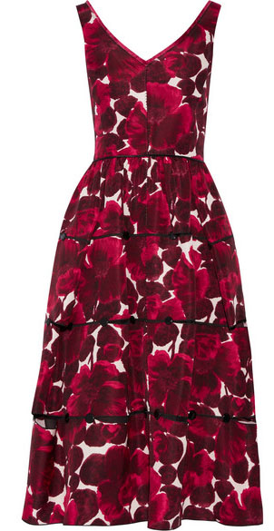Marc Jacobs oversized foral dress