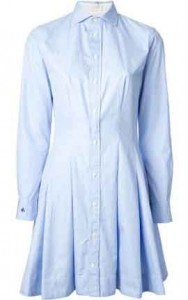 Polo Ralph Lauren oxford print shirt dress