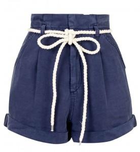 River Island paper bag waist shorts