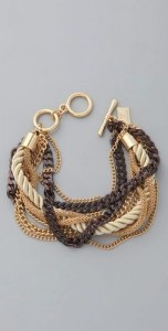 chunky chain bracelette