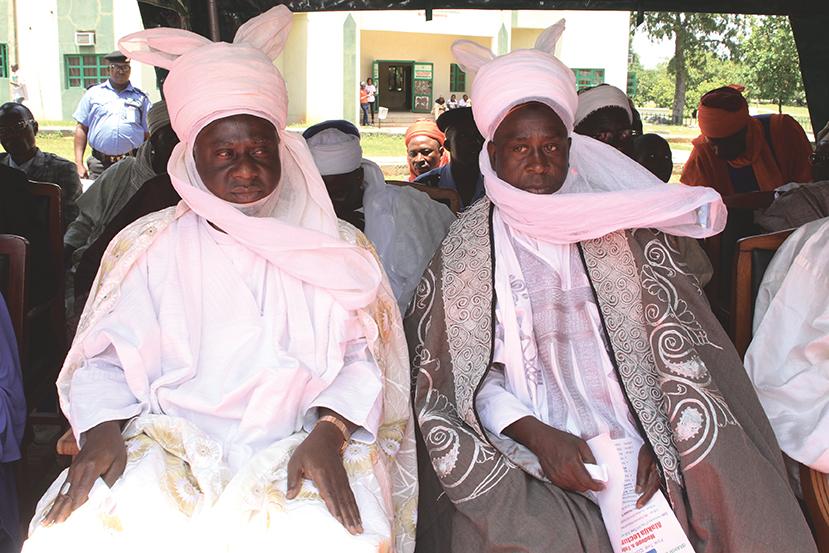 Alhaji Umar Bahago and Alhaji Umaru Bago