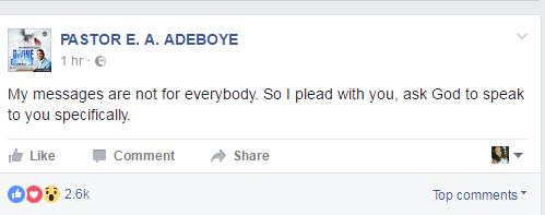 pst adeboye
