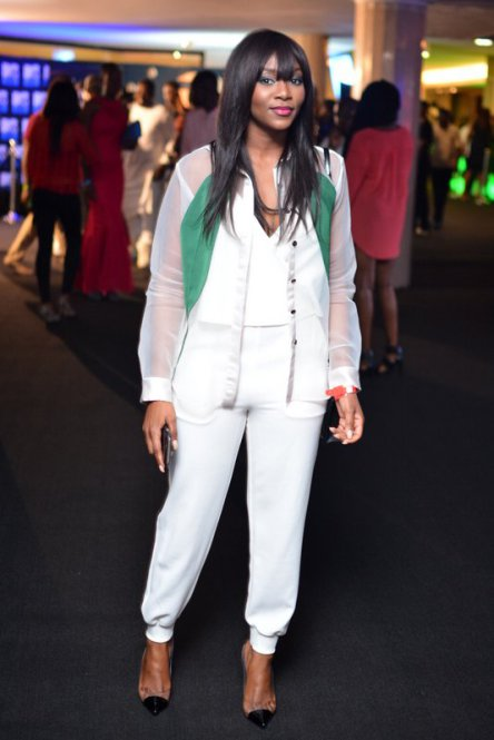 Genevieve Nnaji Storms 'Love Like a Movie 3' Concert in  Bridget Awosika