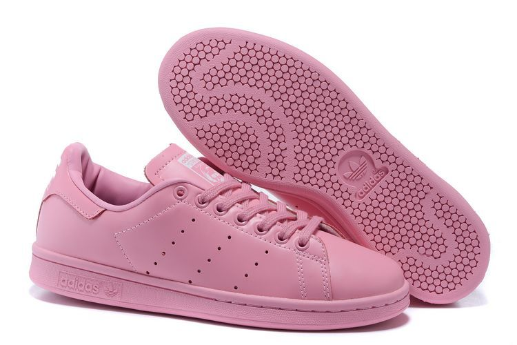 8838de5be114 latest-adidas-women-casual-shoes -2016-superstar-smith-leather-all-pink-1-7146-44792