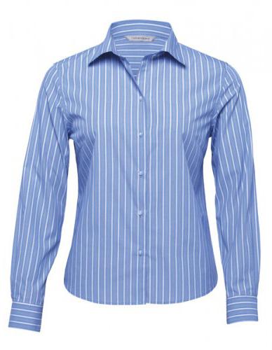 wes-kensington-ladies-euro-stripe-shirt-blue-white