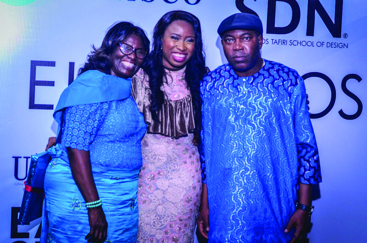 Ejiro with Parents