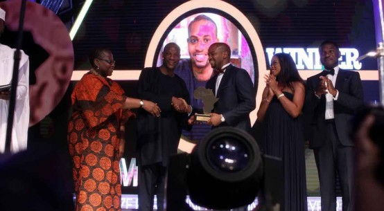 Mark Okoye Winner, The Future Awards Africa Prize for Young Person of the Year