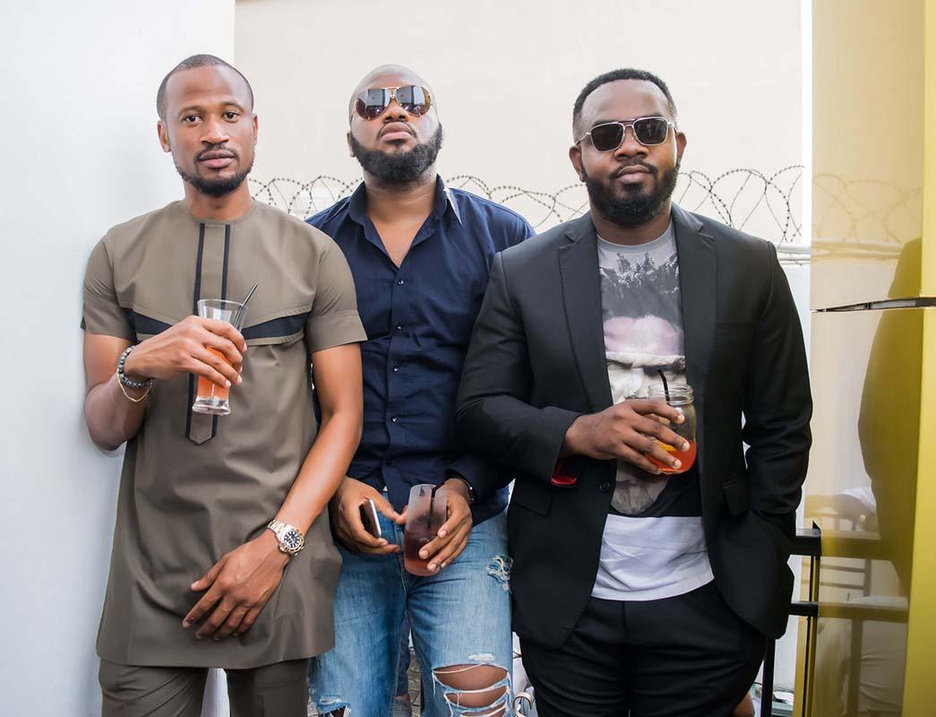 Mazino, Osaz Ogohlor and Justin Emeka