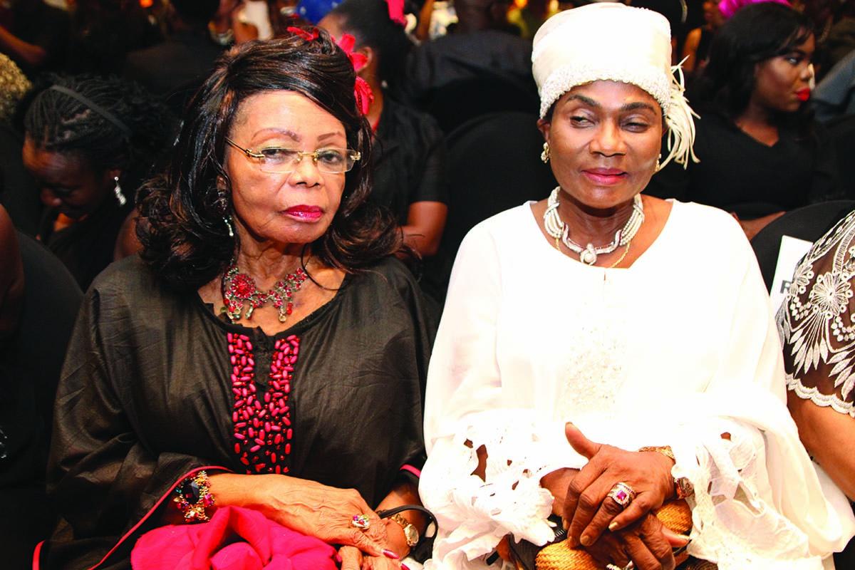 Opra Benson and Erelu Abiola