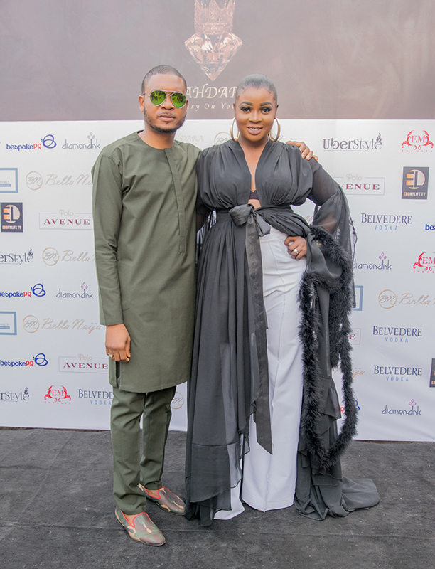 Shina Peller and Designer Sola Adepoju