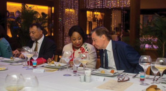 From left Jean-Raoul Tauzin, Chief Mrs Nike Akande and French AmbassedorFrom left Jean-Raoul Tauzin, Chief Mrs Nike Akande and French Ambassedor