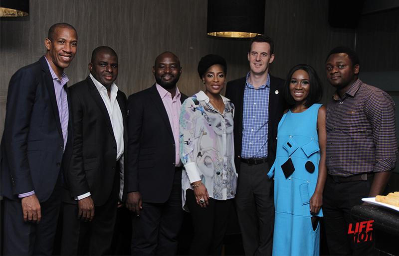 Michael Williams, Uzo Onwuchekwa, Otome Oyo, Mo Abudu, Rob Hobart, Eunice Omole & Jubril Kelani