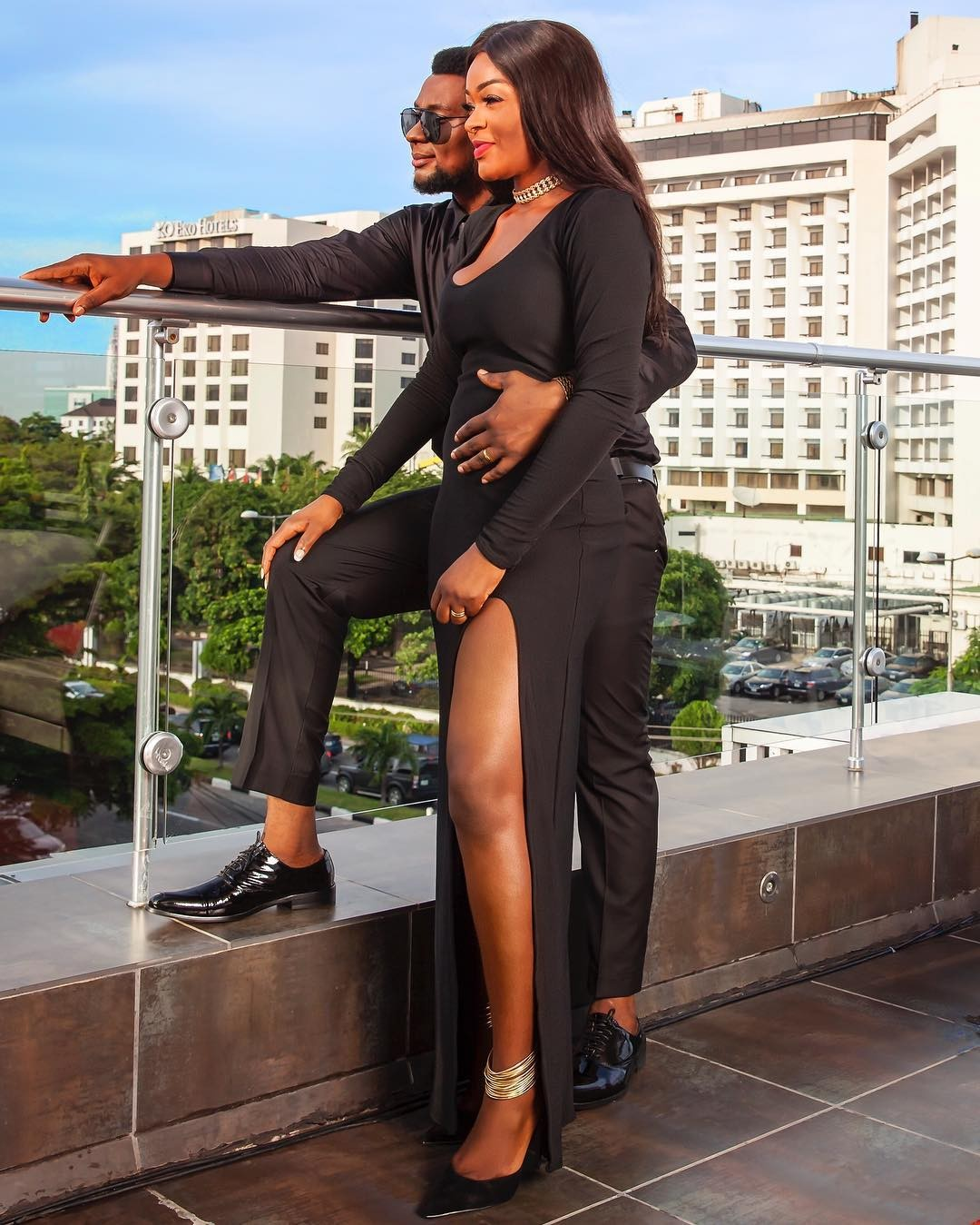 Husband May The 4th Be With You: Actress, Chacha Eke Shares Lovely Family Photos As She