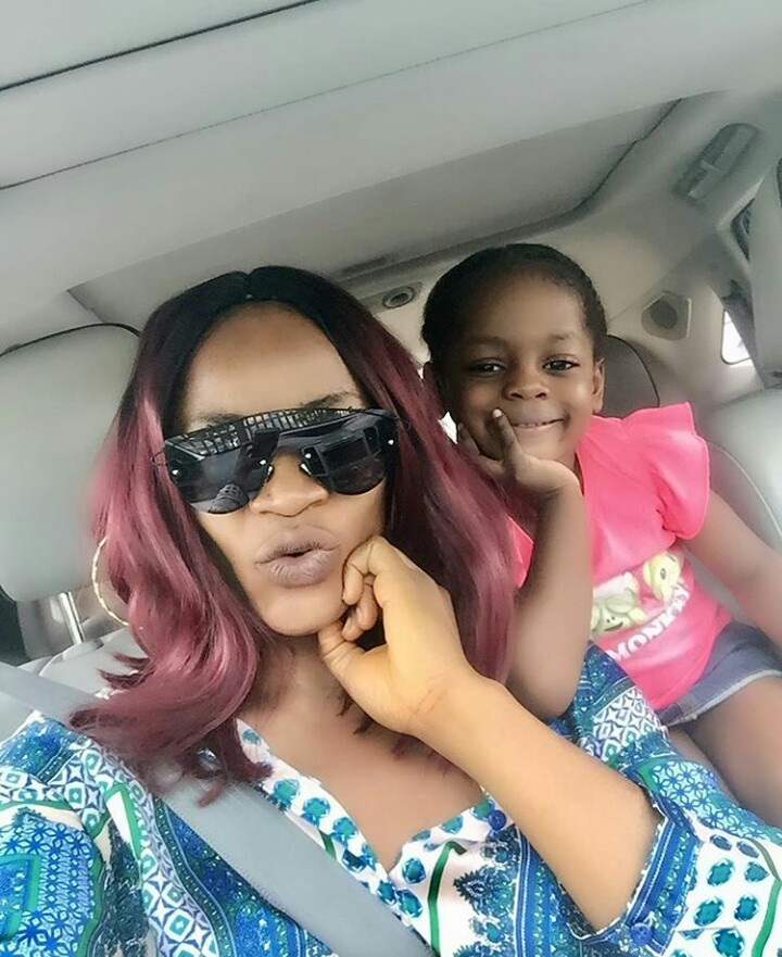 Why My Daughter Has Never Seen Her Father Before Actress Uche Ogbodo
