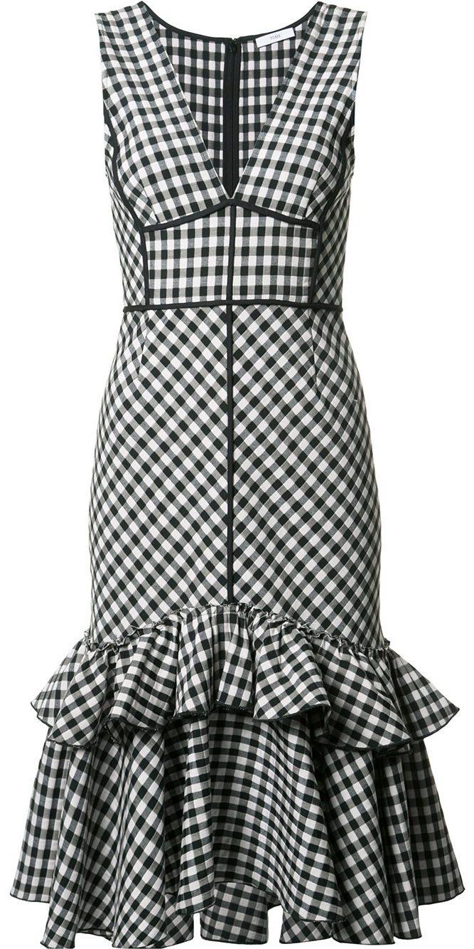 TOME Sleeveless Gingham dress