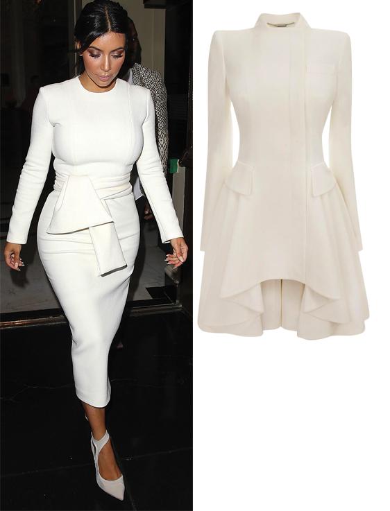 Kim Kardashian & Alexander Mcqueen Dress