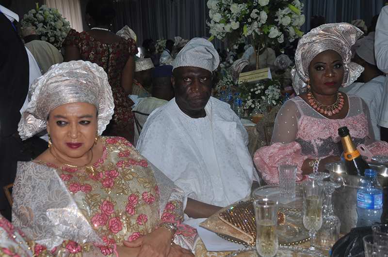 Justice Dayo Akinboye, Justice George Oguntade his wife Chief [Mrs] Modupe