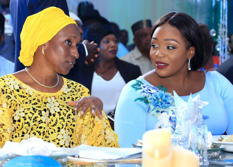 Mrs Dolapo Osinbajo and Nkechi Rochas Okorocha