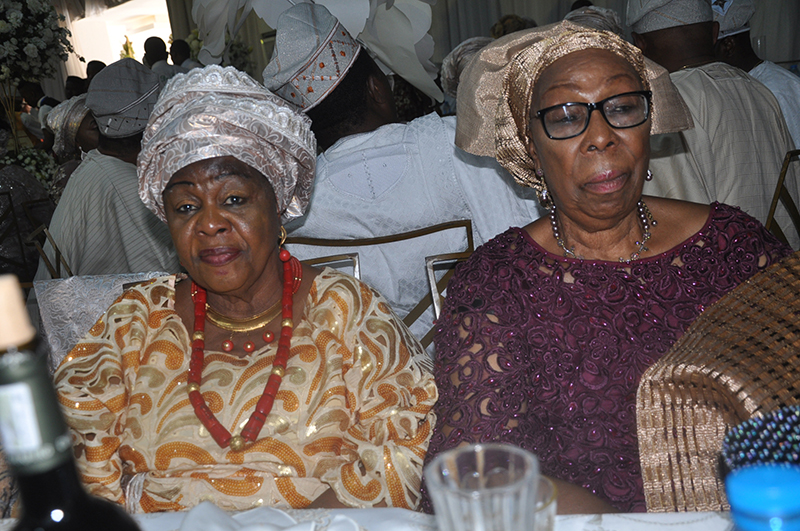 Olori Muibat Olayinka Oyefusi and Mrs. Dupe Adebayo.