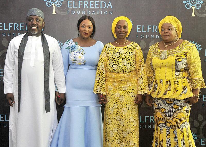 Owelle Rochas Okorocha, Uloma Rochas Okorocha,Mrs Dolapo Osinbajo and Nkechi Rochas Okorocha