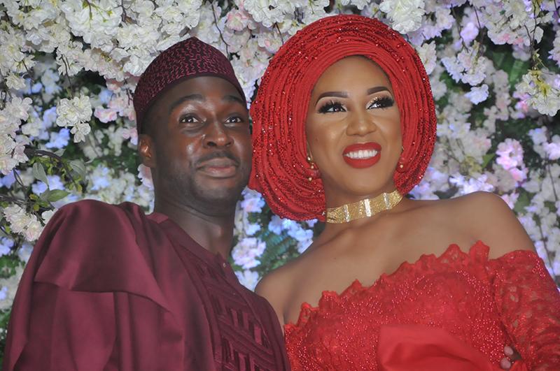 Richard Adebayo and his wife Reni.