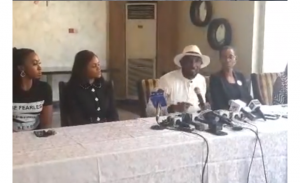 'I never said I met my wife a virgin' - Timi Dakolo makes more revelations at a  press conference