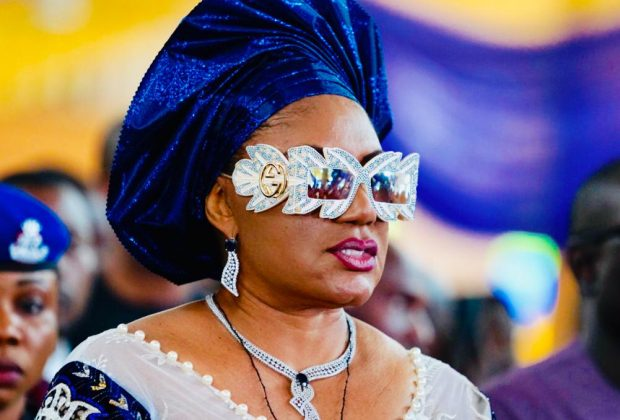 Anambra First Lady steps out in Gucci glasses N991,800 (Photos)