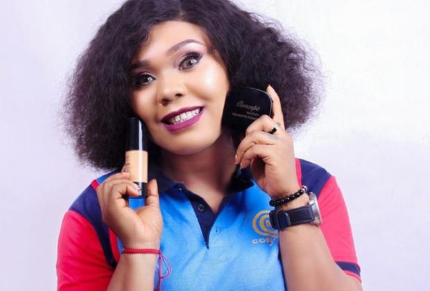 Nollywood Actress, Lillian Okoli Signs Makeup Deal