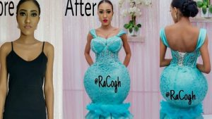 No plastic surgery but fashion designed