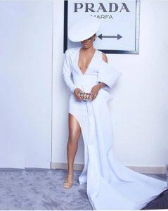 Toke Makinwa stuns At Elite Model Look