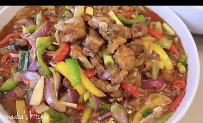How to prepare chicken and vegetable stir fry sauce