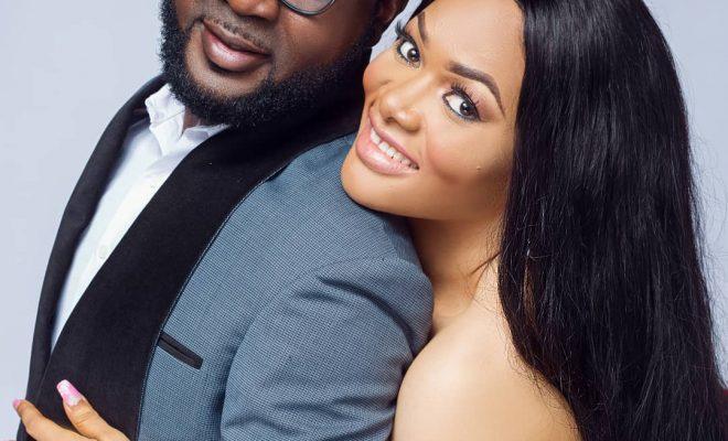 Lanre Makun and wife
