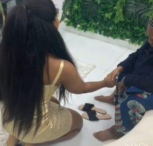 Tacha pays special visit to 'grandma'