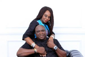 """""""My sweet wife, you are perfect"""" - Gbenga Adeyinka goes romantic to celebrate wife on 25th wedding anniversary"""