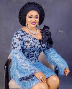 Mercy Aigbe sitting pretty