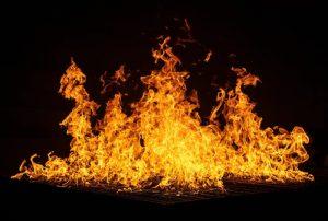Blazing. Fire.